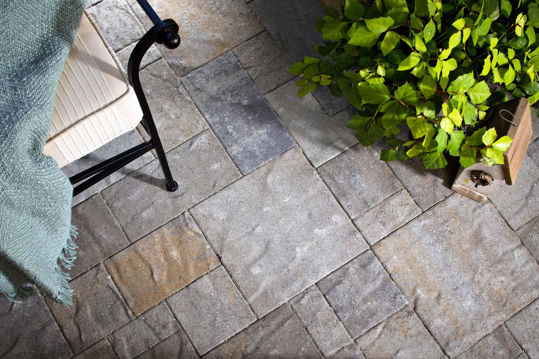 Merveilleux ... Patio Tiles Classic Outdoor Slate Tile Home Depot Catalina Slate ...