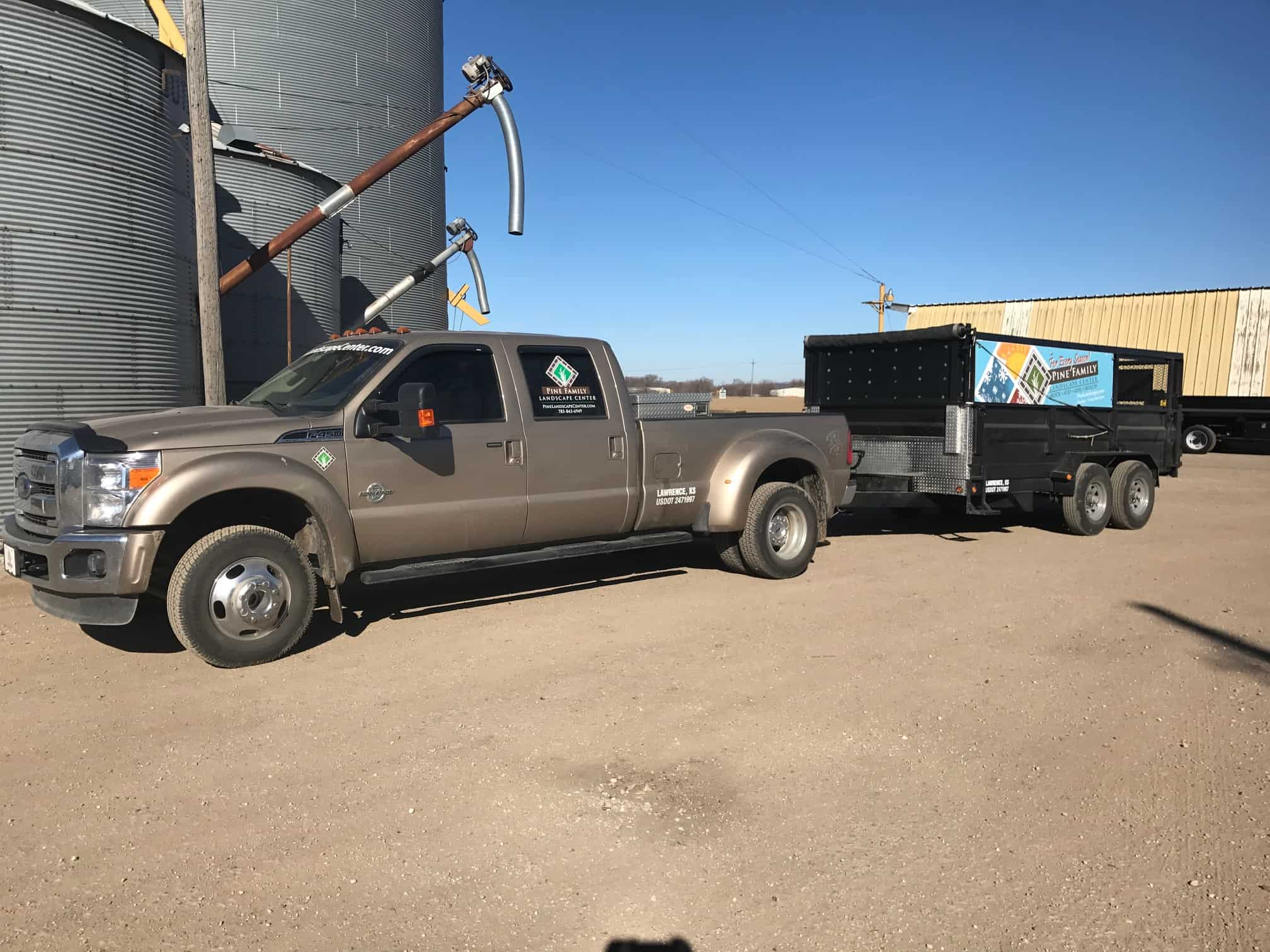 Delivery Truck Trailer